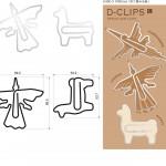 ペルーのお土産案、地上絵のD-Clips